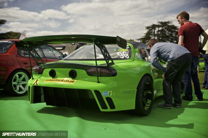 The Super Car Siege 2015, held at Leeds Castle in Kent