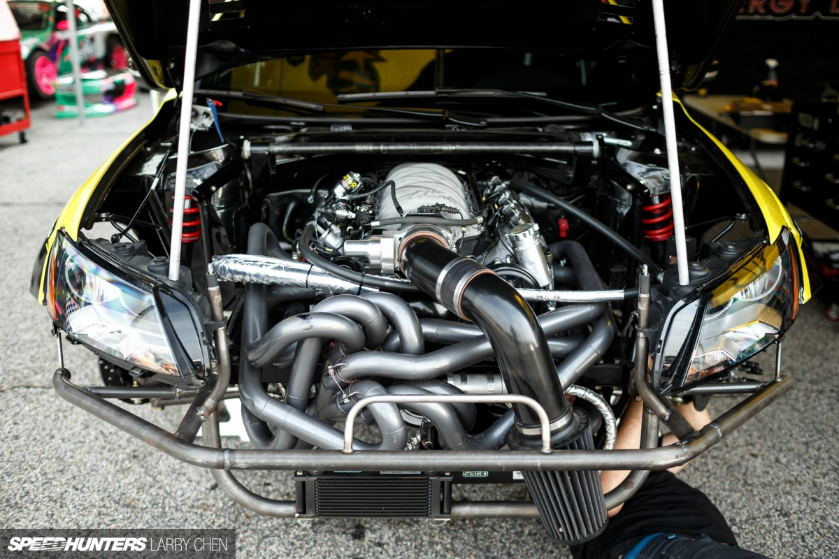 Horsepower Wars The Engine Bays Of Formula Drift 2015