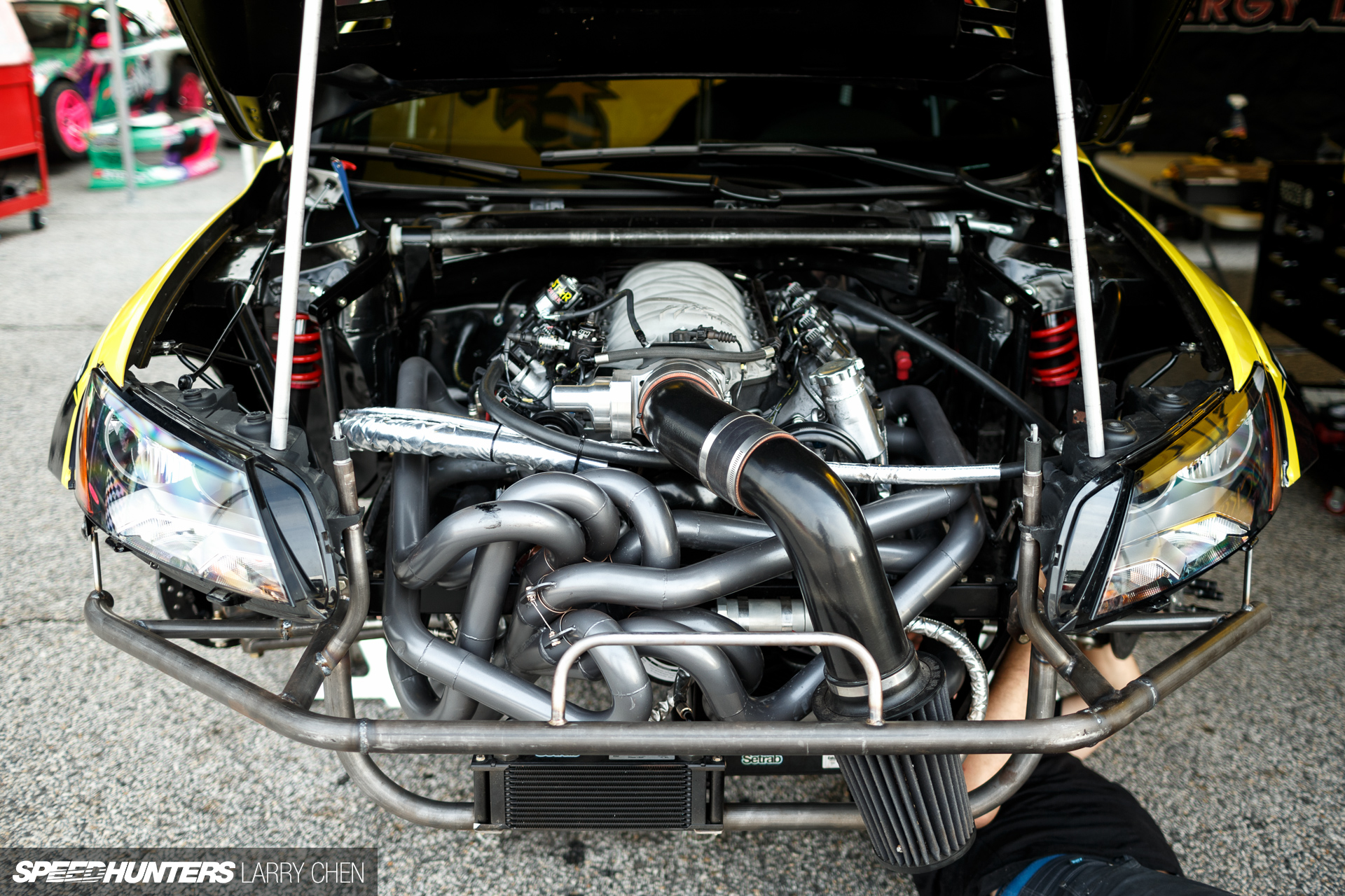 Horsepower Wars: The Engine Bays Of Formula Drift 2015 ...