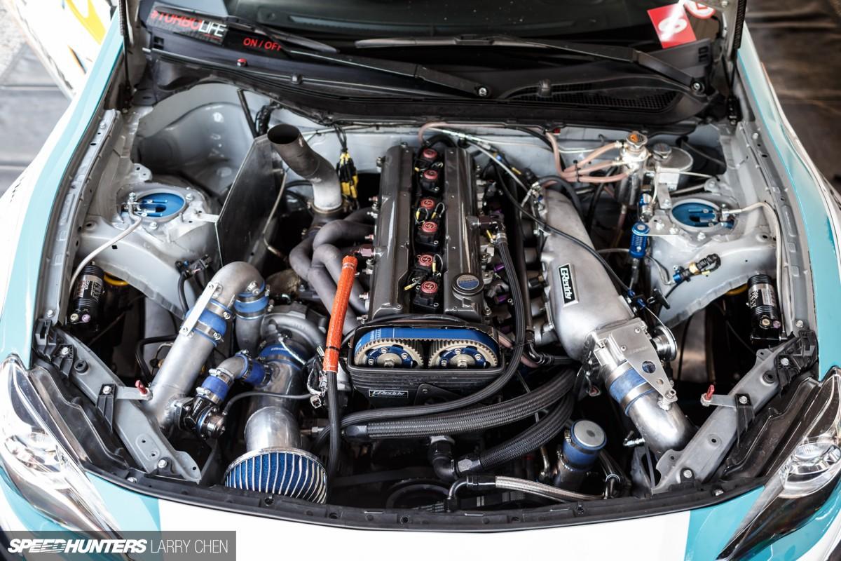 Horsepower Wars The Engine Bays Of Formula Drift 2015 Speedhunters 2jz Wiring Harness Auto Larry Chen 28