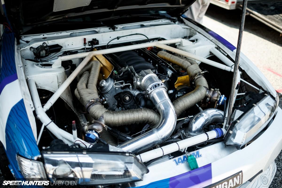 Horsepower Wars The Engine Bays Of Formula Drift Speedhunters