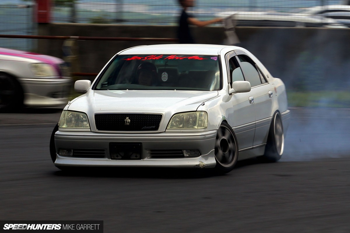 Iu0027ve Seen A Handful Of S170 Toyota Crown Drift Cars Over The Years, But  This Event Was Packed With Them. They May Have Been Designed With  Comfortable And ...