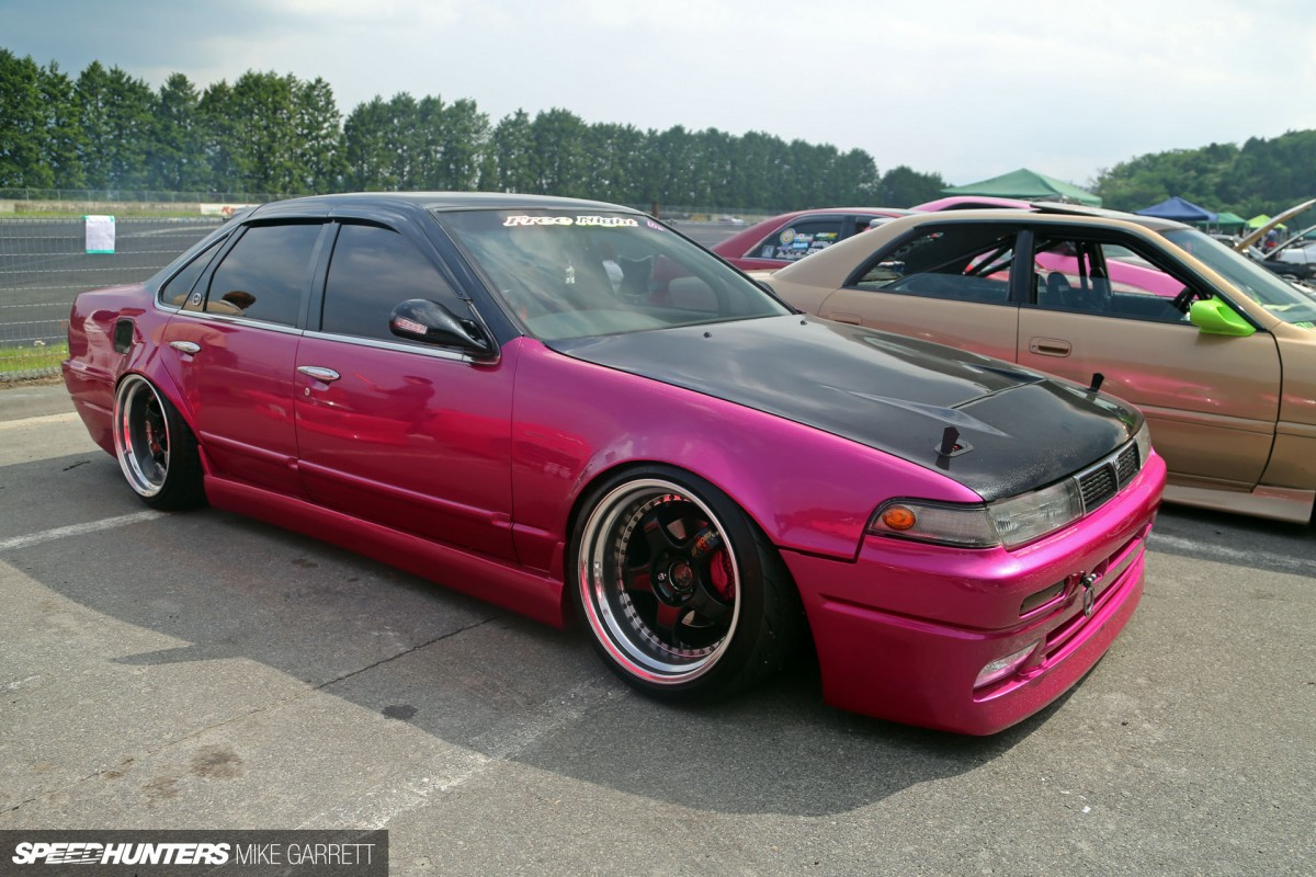 Of Course, Toyota Isnu0027t The Only Maker That Has Drift Friendly Sedans.  There Were Handful Of Nissan Laurels And Cefiros Running, Including This  Beautiful ...