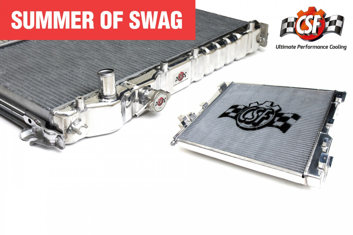 #SHSummerOfSwag: </br> Win CSF Goodies For Your Car!