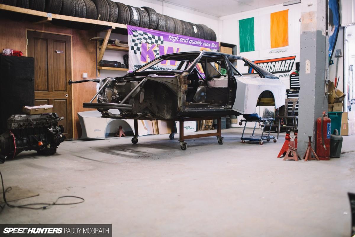 The Audi Drift Sport D-Mac S1:</br> Big StepsForward
