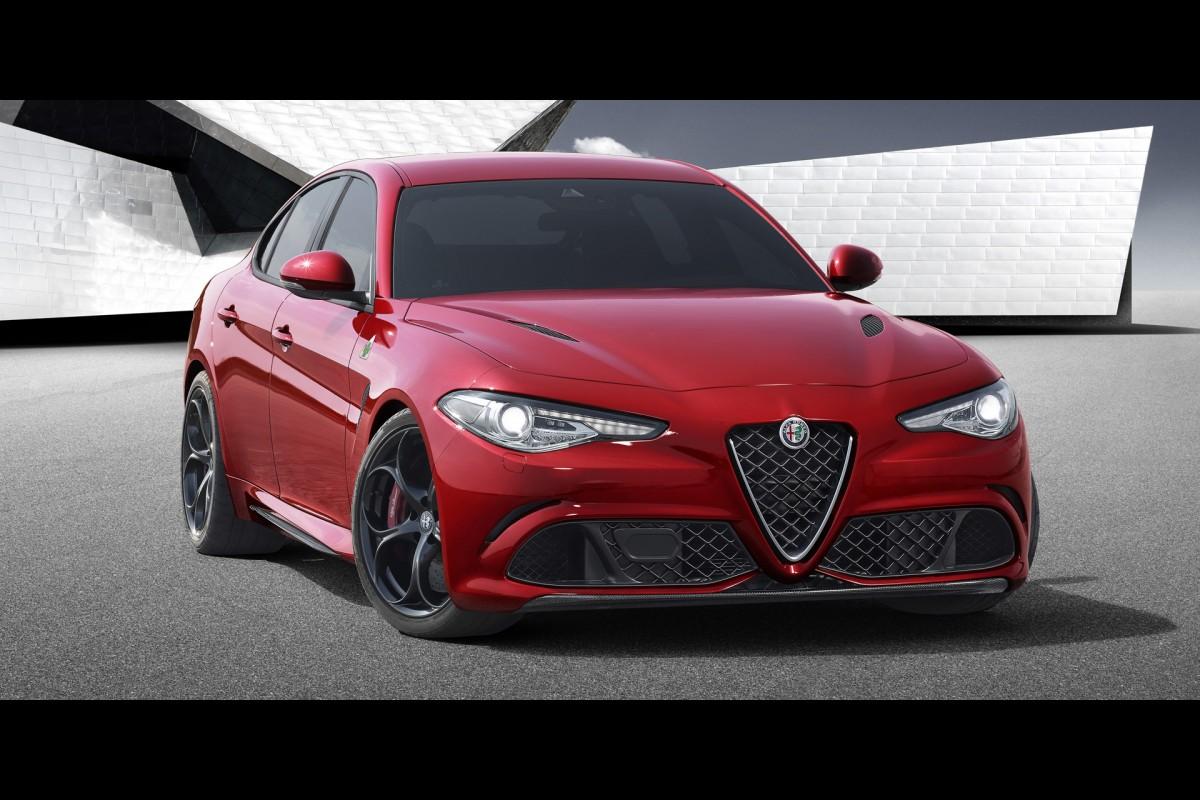 The 510hp Alfa RomeoGiulia