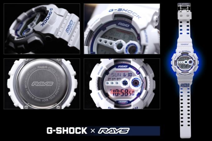Rays Gshock