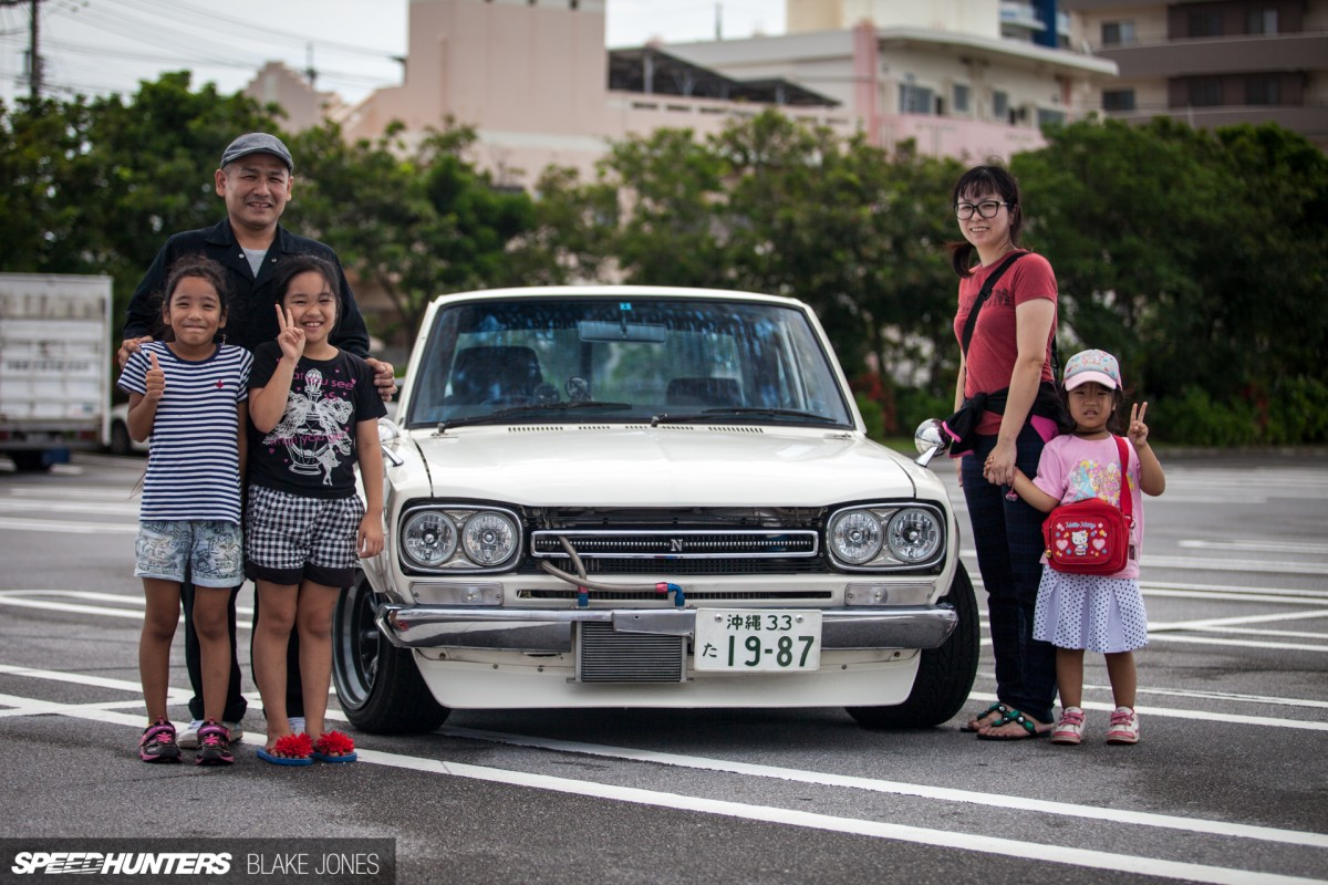 This Hakosuka Is A Part Of The Family