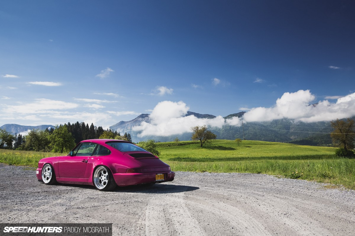 Pretty In (Not) Pink: A 964 Built To Drive Low