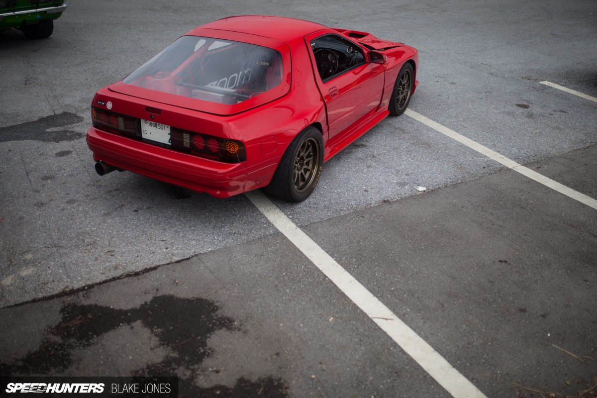 A Drag-Spec RX-7 With Nowhere To Race
