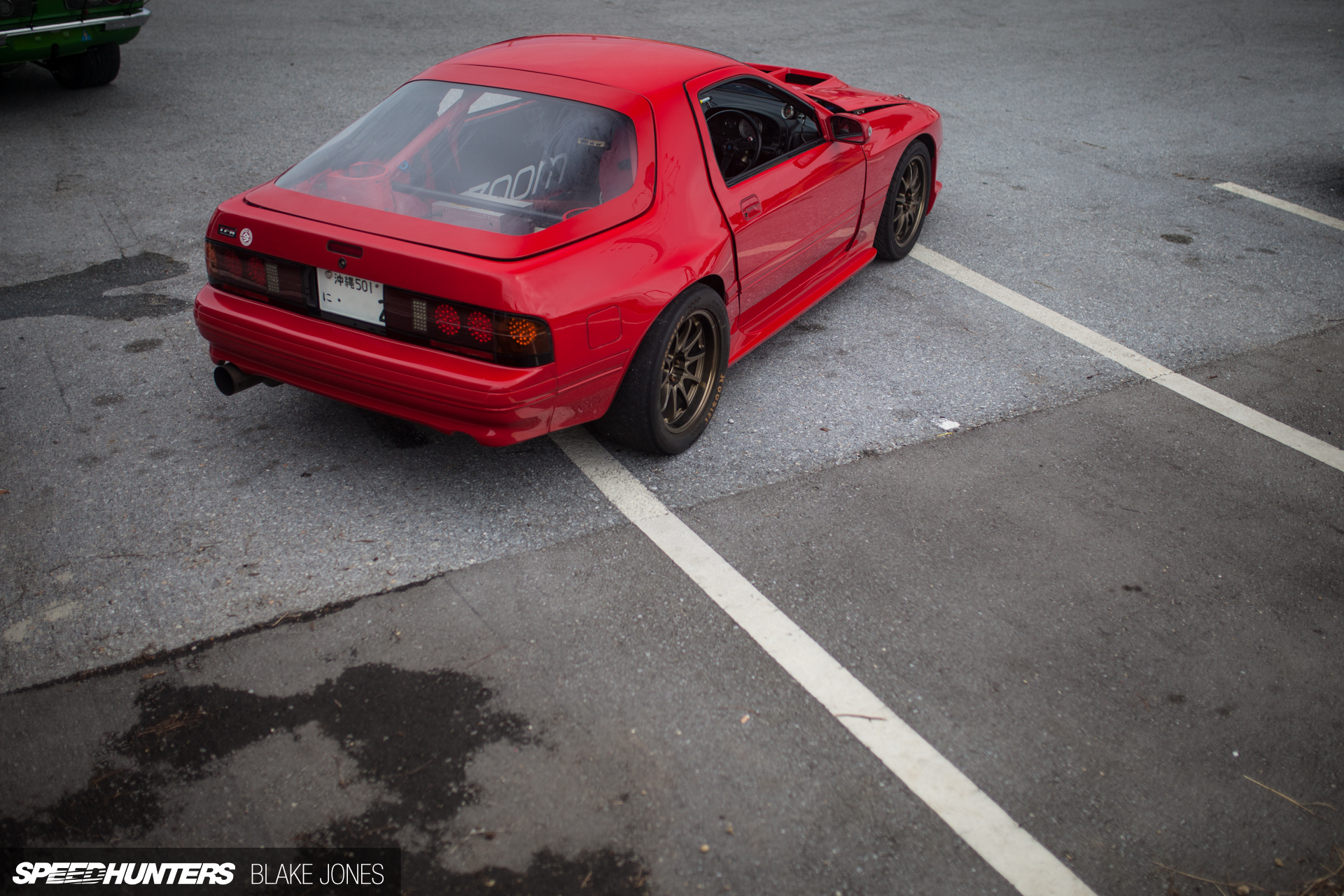 A Drag Spec RX 7 With Nowhere To Race