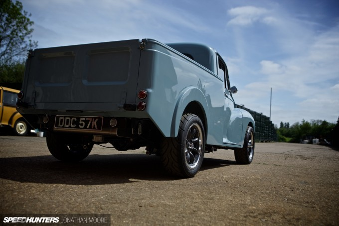 Adam Kent-Smith's Lotus Twin Cam-powered Austin Minor Pickup, built by JLH Motorsport
