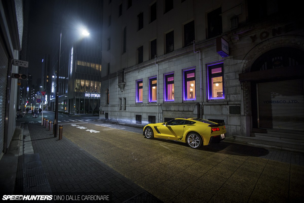 One Night, One Car: The Z06 InTokyo