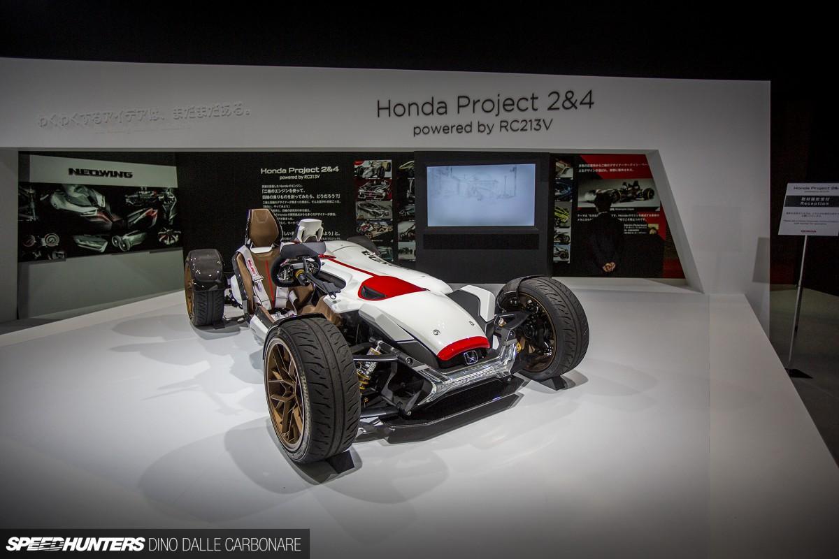 Honda's Bike With FourWheels