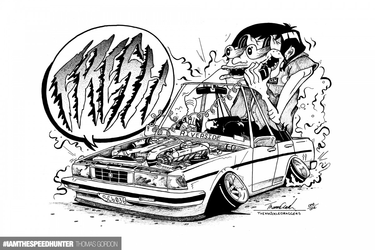 overwhelmed by your incredible automotive art