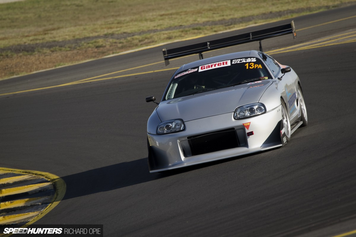 Slashing Lap Times With A Subtle Supra