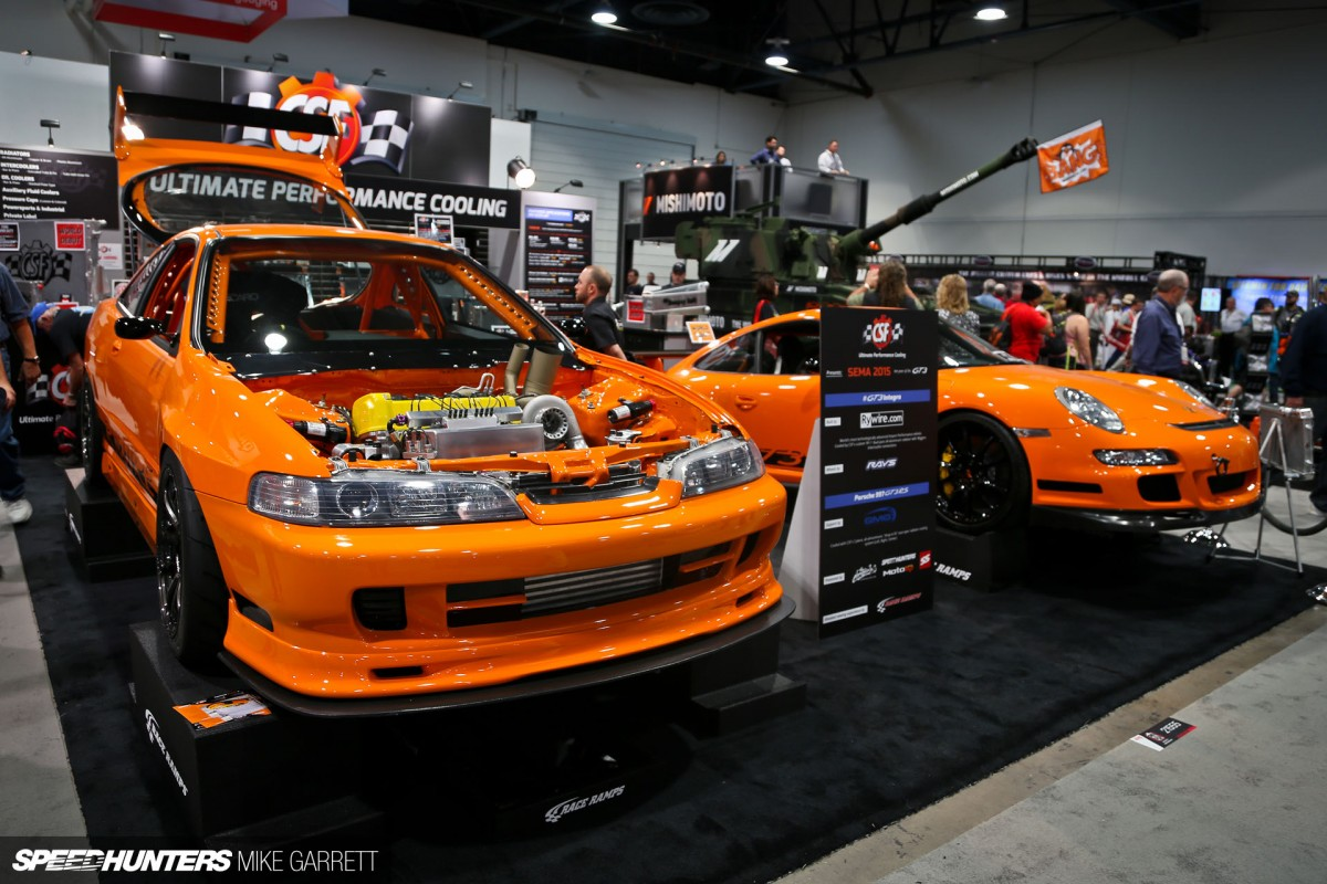 Type R Meets Porsche The Ultimate Integra Speedhunters Dc2 Wiring Harness Rywire Sema