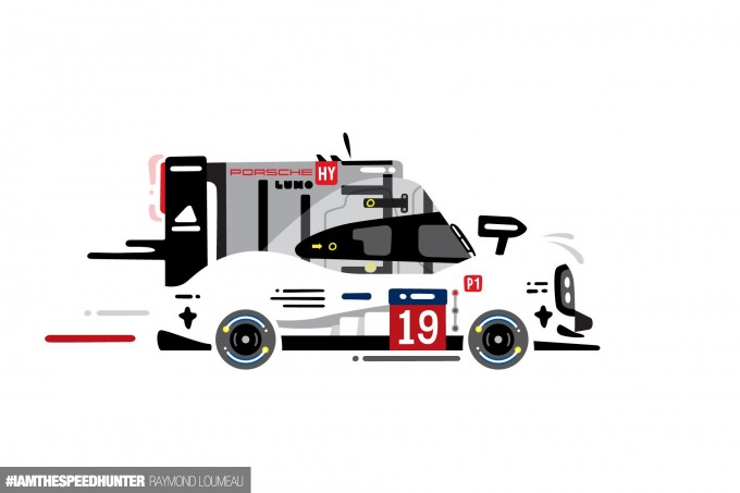 LeMans Porsche Animation