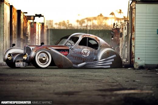 Rat Rod Bugatti Speedhunters