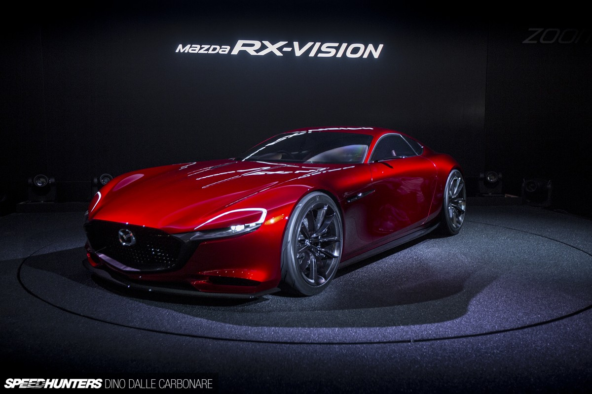 mazda 39 s rotary dream the rx vision concept revealed speedhunters. Black Bedroom Furniture Sets. Home Design Ideas