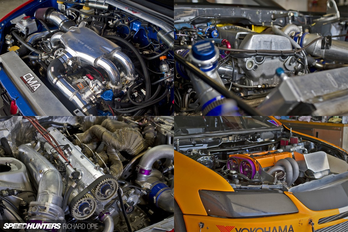Open Wide & Say Ahh… The Engine Bays Of WTAC