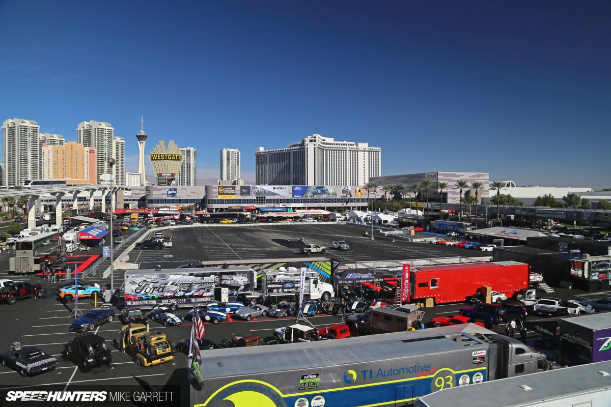 In The Moment: SEMA-Mania
