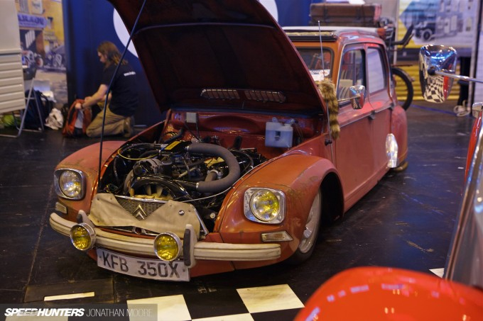 The 2015 Classic Motor Show, held at the National Exhibition Centre outside Birmingham, featuring over 2,500 classic cars and bikes, and 650 exhibitors