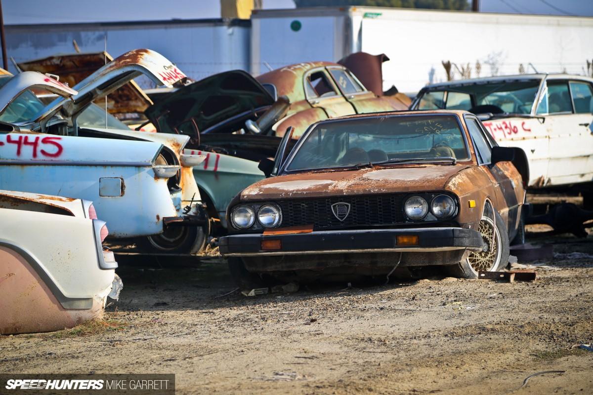 Imports In An American Junkyard - Speedhunters