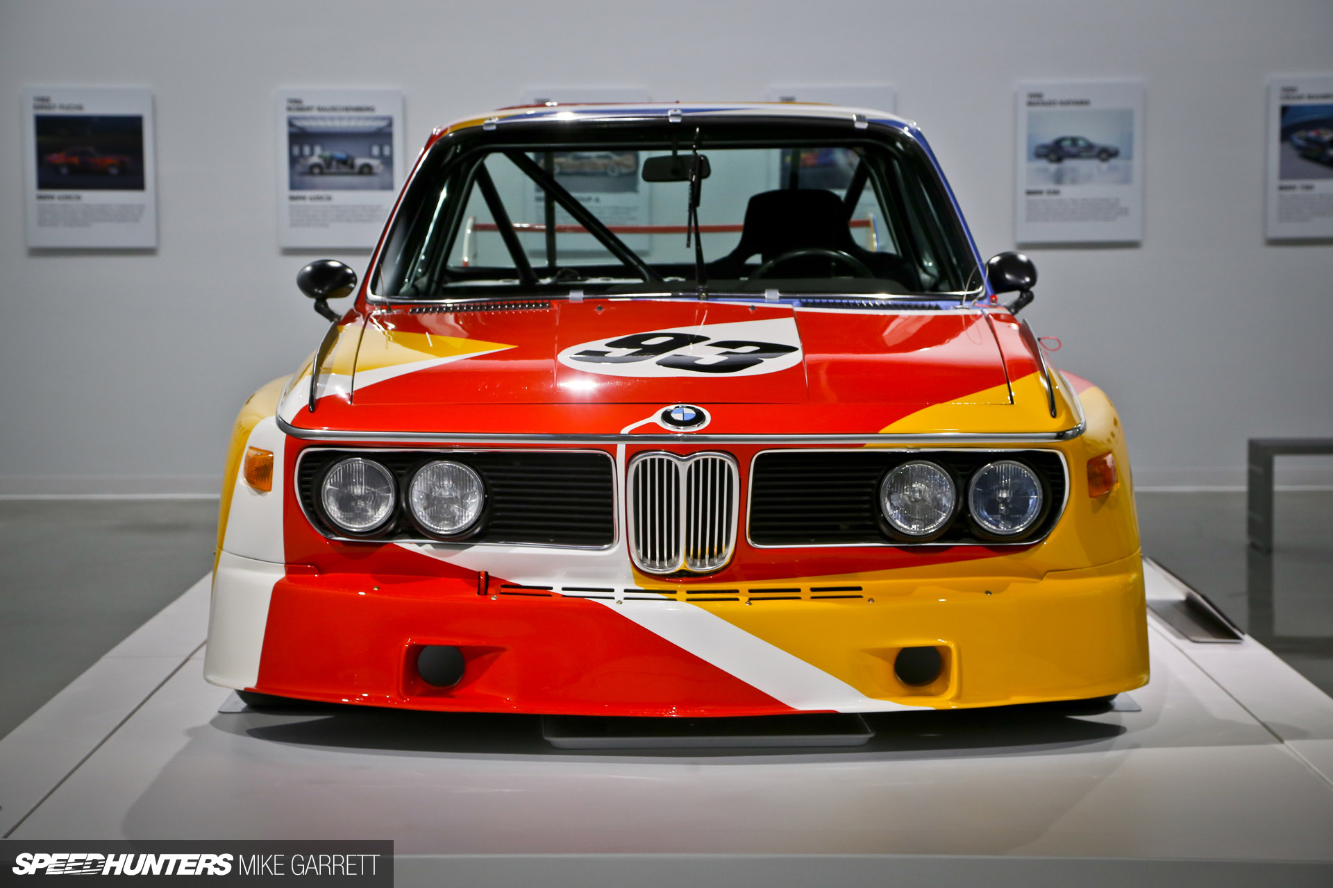 the first bmw art car speedhunters. Black Bedroom Furniture Sets. Home Design Ideas