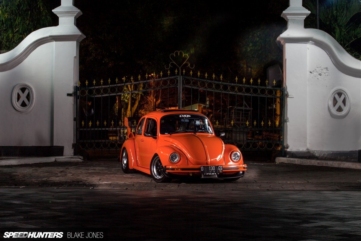 A Super Beetle That's Ready For Take Off