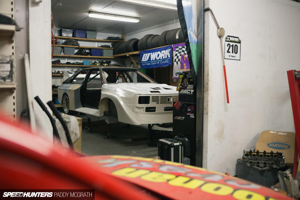 The Audi Drift Sport D-Mac S1: Getting IntoShape