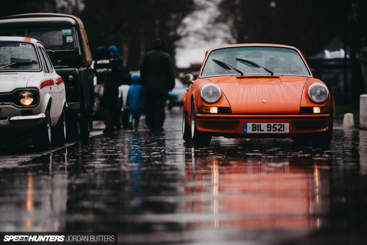 Classics In The Rain: Bicester Heritage Sunday Scramble