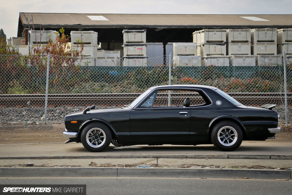 Back In Black: A Hakosuka Built The Old School Way