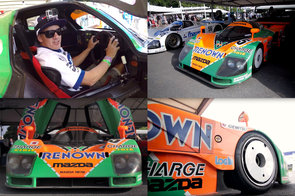 Mad Mike Meets The 787B