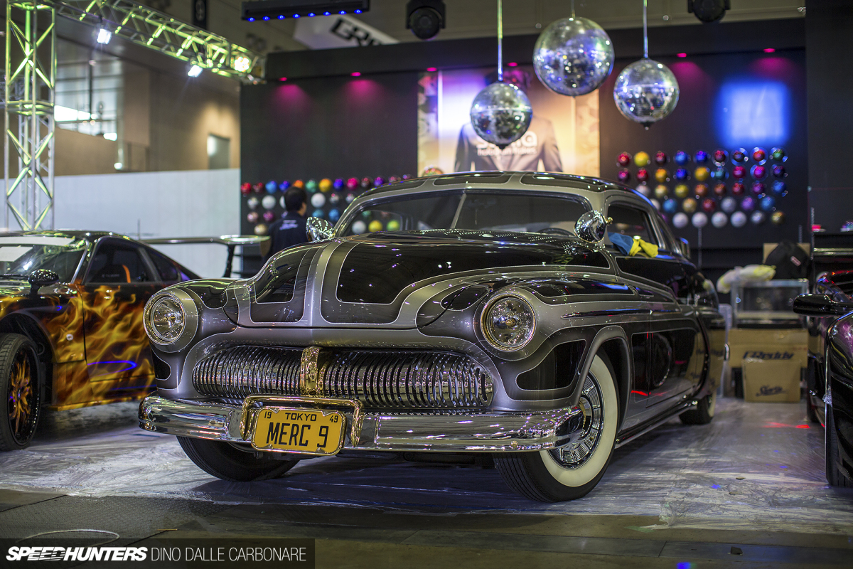 Check this out a lead sled at tas now this is something i want to see more of the type of car not this actual mercury which we of course have