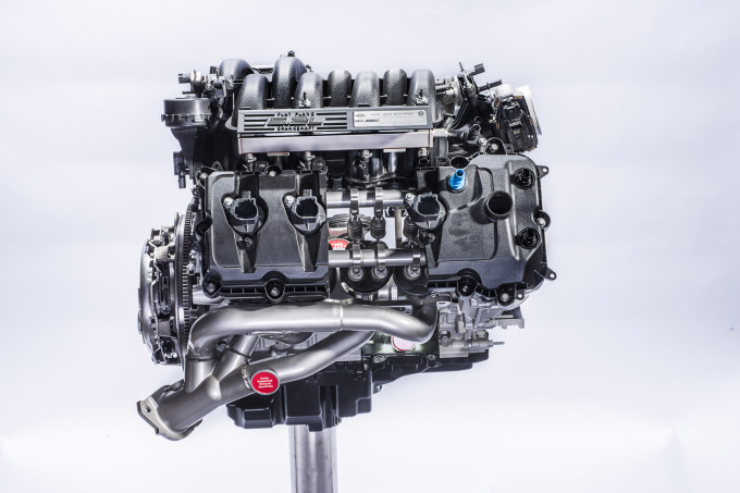 The All-New Ford 5.2-liter V8