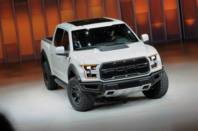 Ford F-150 Raptor at NAIAS