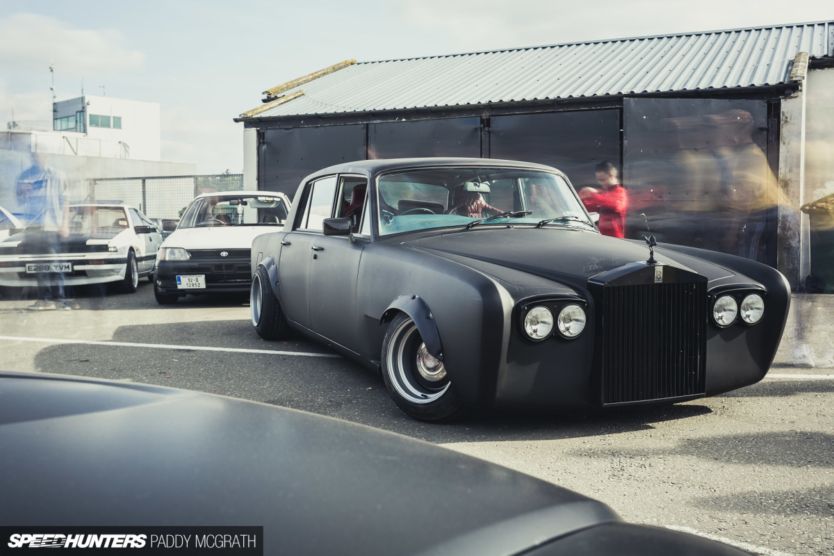 A Rolls-Royce Drift Car