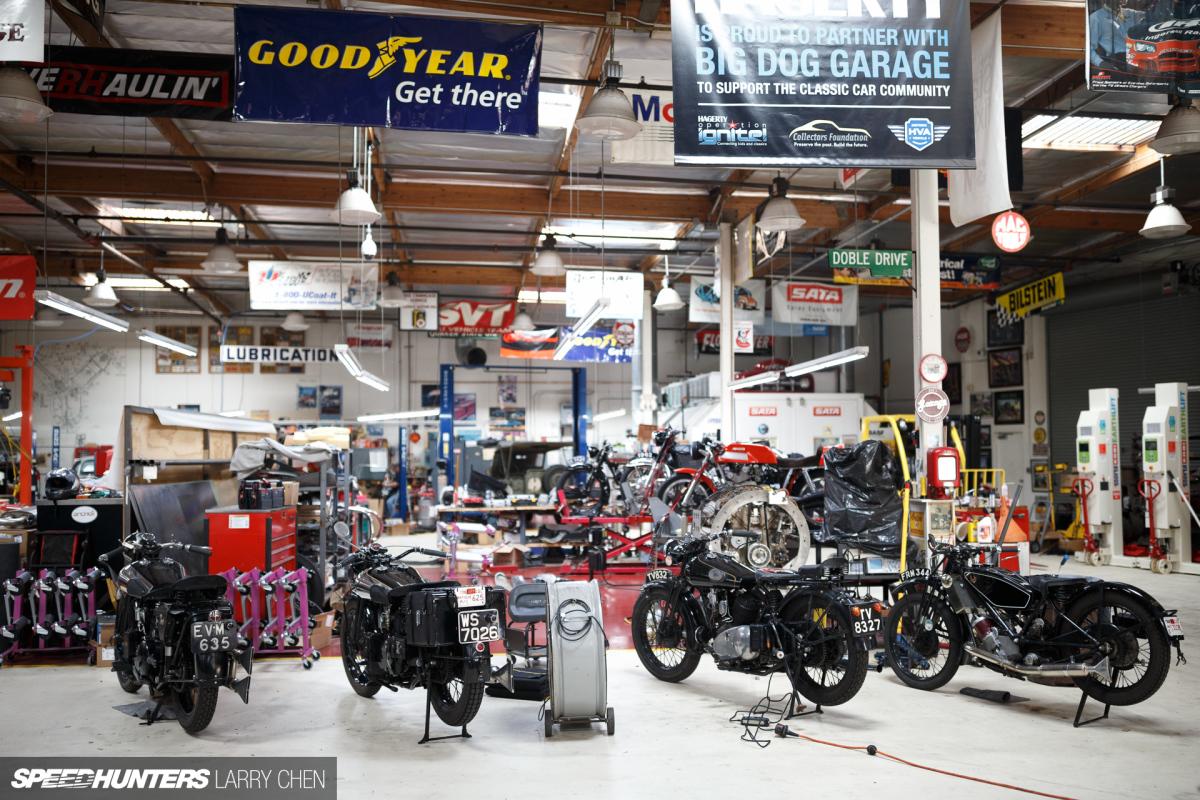 the ultimate hobby shop jay leno u0027s garage speedhunters