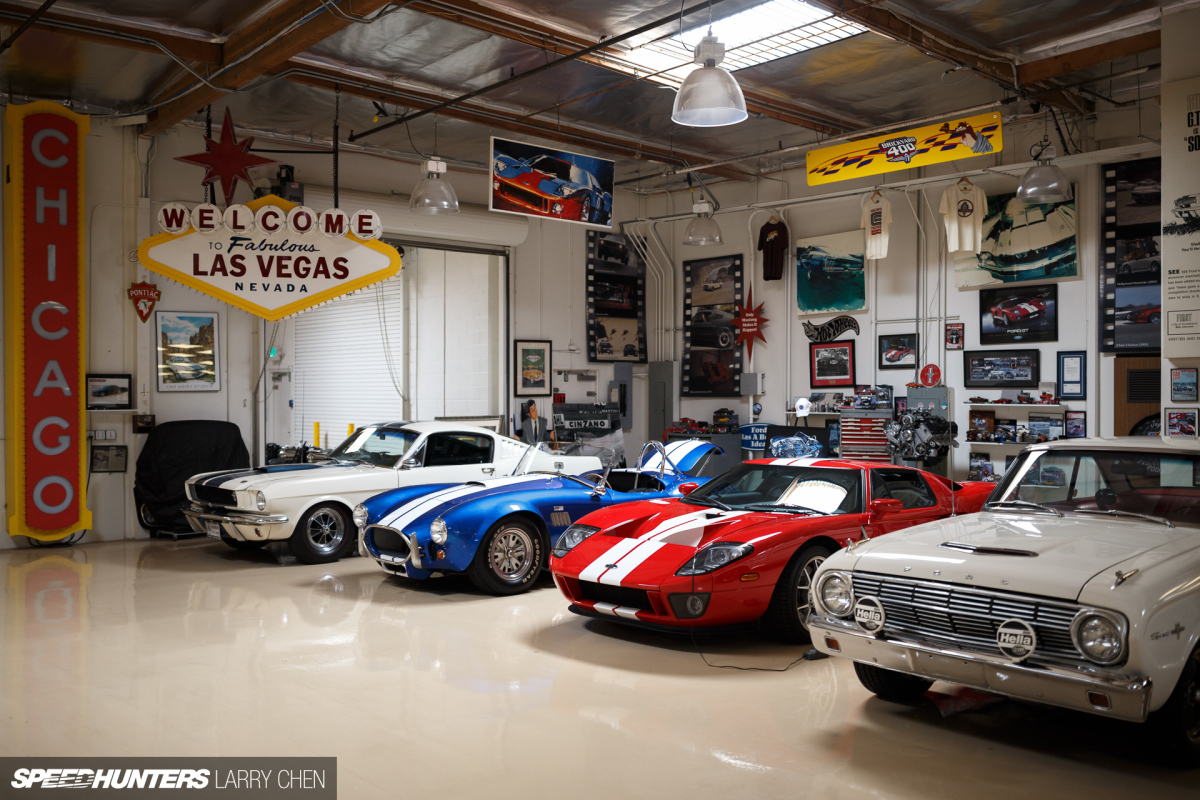 The ultimate hobby shop jay leno 39 s garage speedhunters for Car collector garage plans