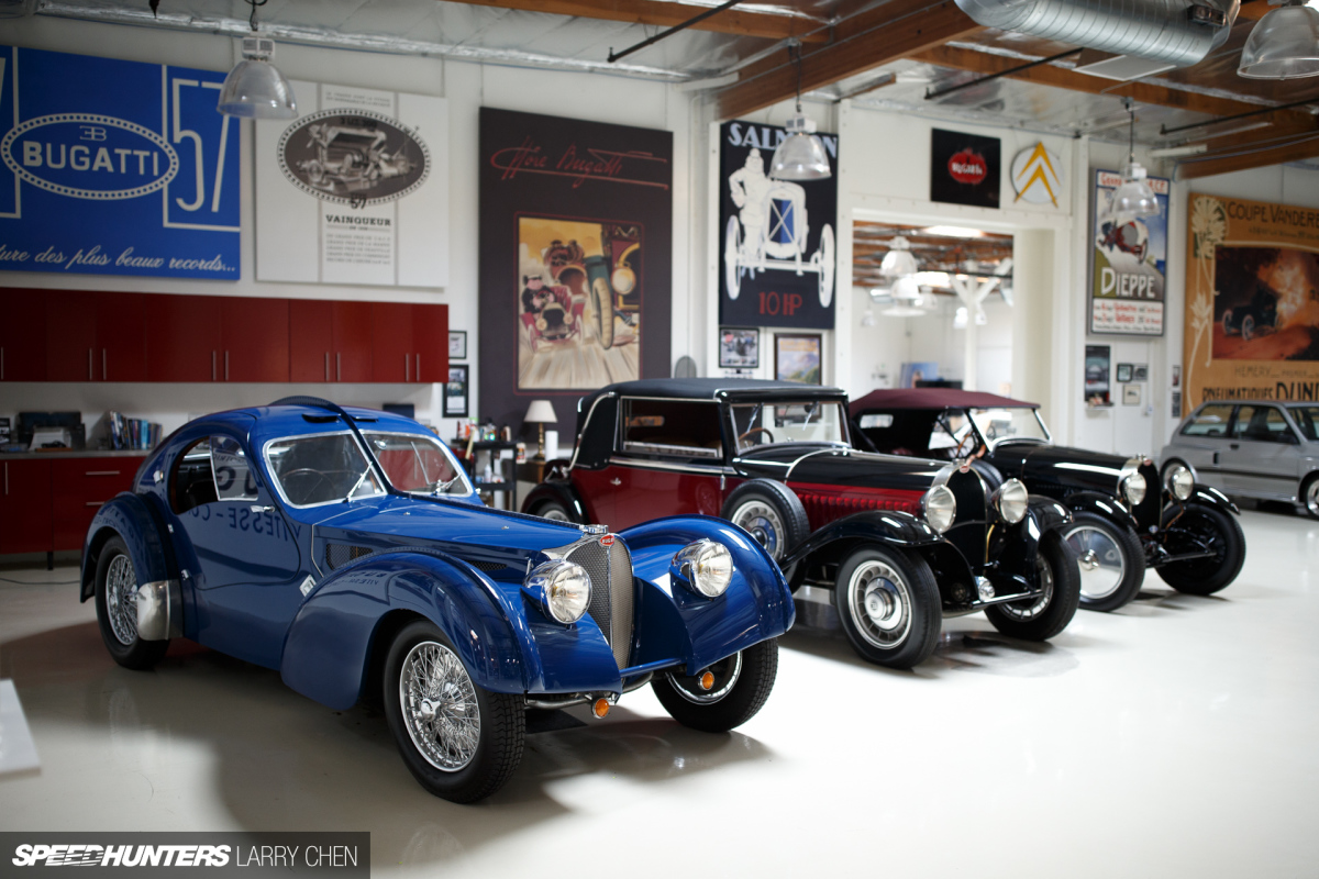 the ultimate hobby shop jay leno 39 s garage speedhunters. Black Bedroom Furniture Sets. Home Design Ideas