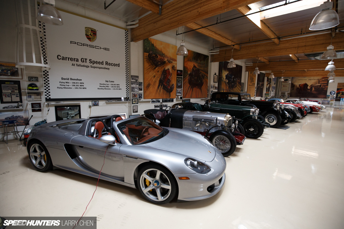 Jay Leno Garage : The ultimate hobby shop jay leno s garage speedhunters