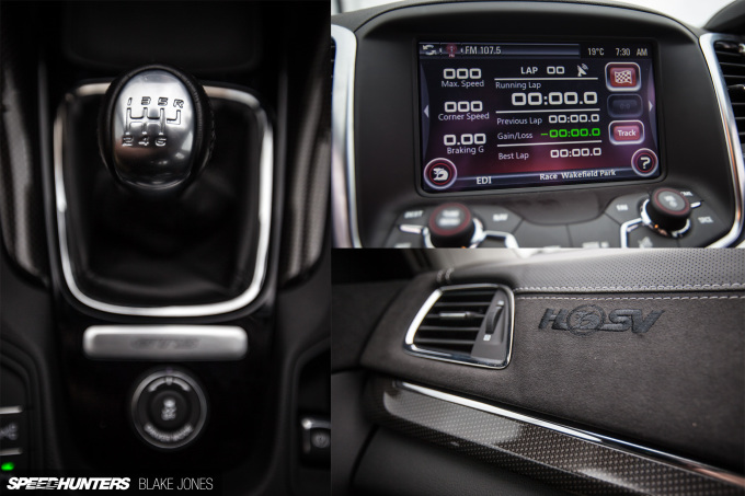 HSV GTS interior collage