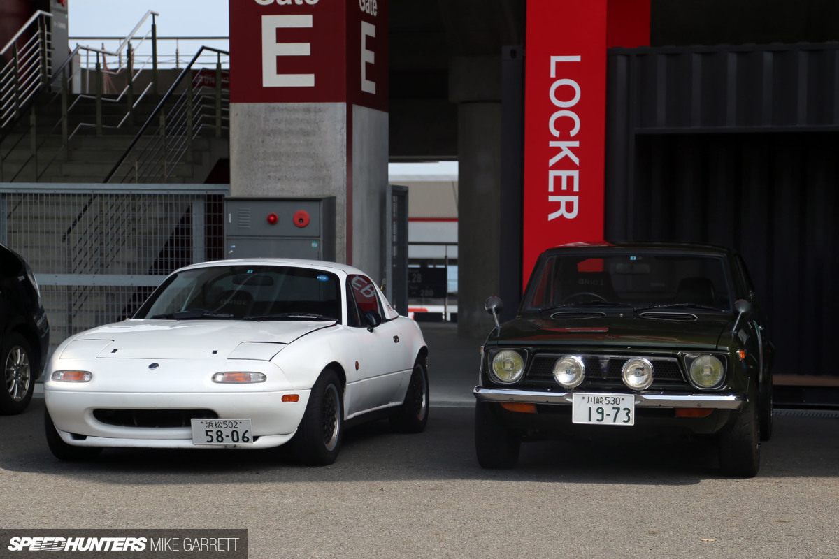 Icons & Rarities: Car Spotting In The Fuji Parking Lot