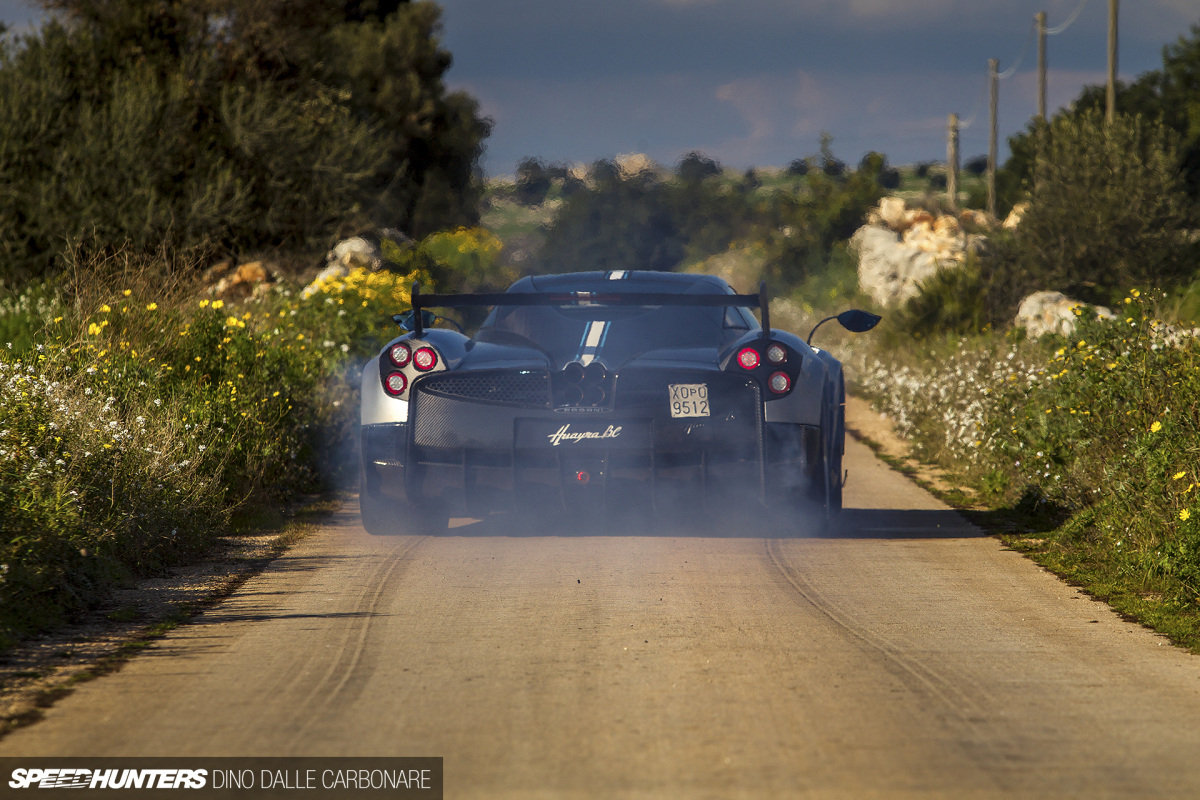 Getting Loose In the Pagani Huayra BC