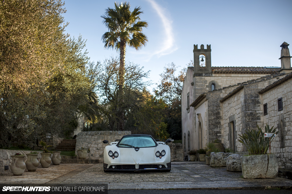 A Very Special Pagani ZondaF