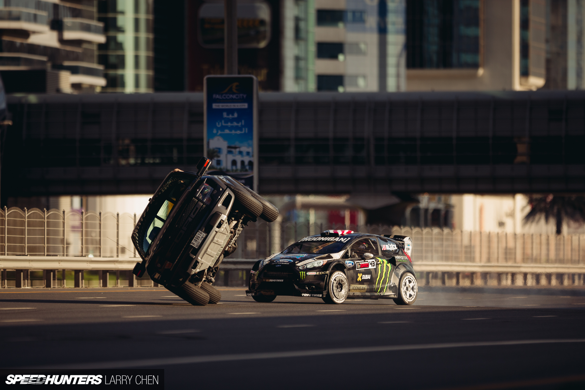 Behind The Scenes Of Gymkhana Eight - Speedhunters Gymkhana