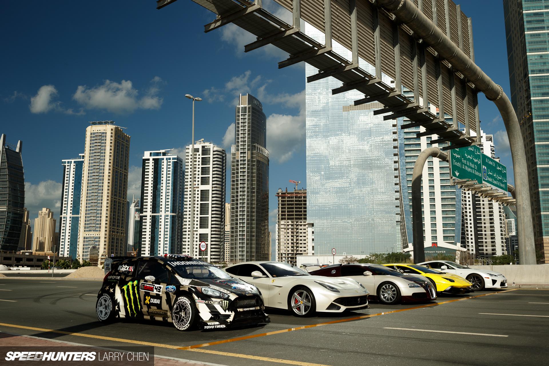 Block K Chen contest cars