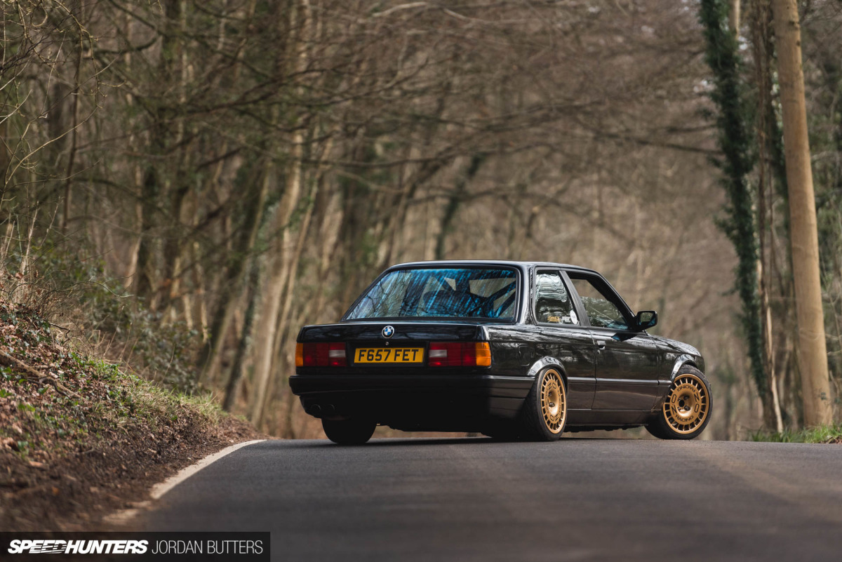 Guy's Higgs' pristine S50-powered 1989 BMW E30 doesn't belong in a box.