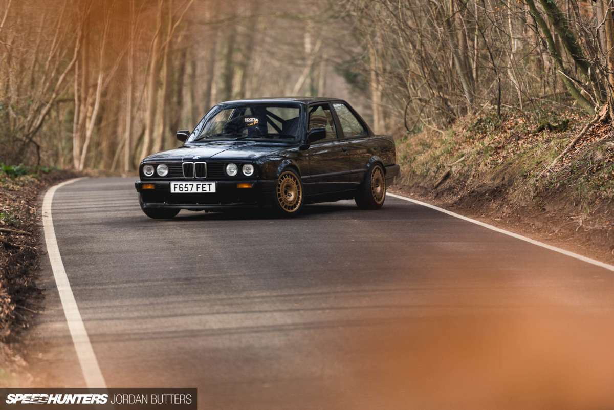 Driving Thrills: An E30 Track Animal
